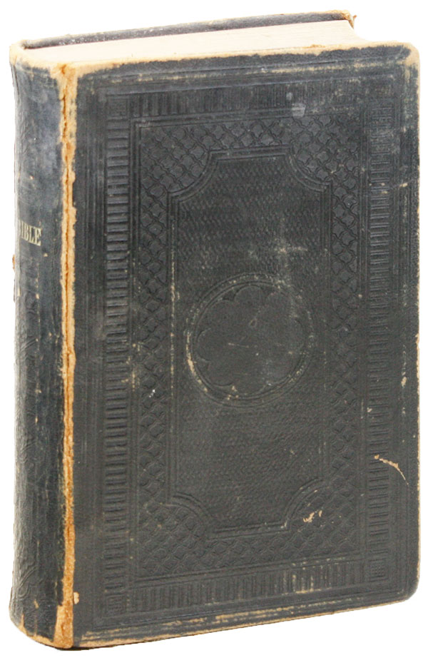The Holy Bible, containing the Old and New Testament, translated out of the original tongues; and with the former translations diligently compared and revised. FAMILY BIBLE.