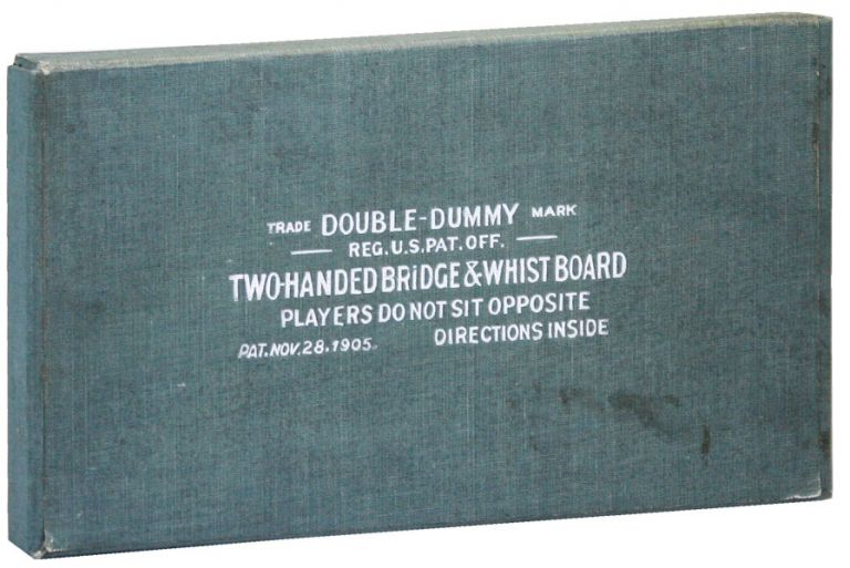 Two-Handed Bridge & Whist Board. DOUBLE-DUMMY.