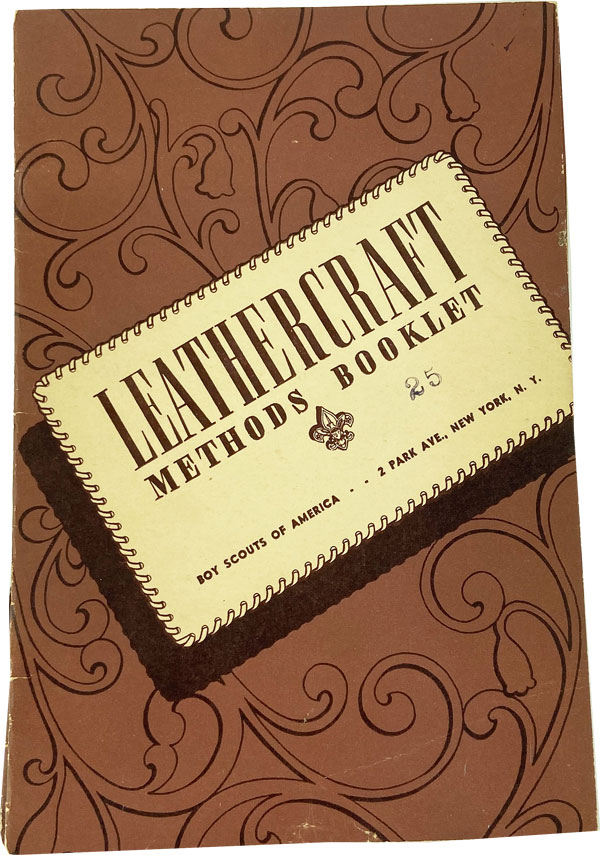 Leathercraft Methods Booklet. BOY SCOUTS OF AMERICA.