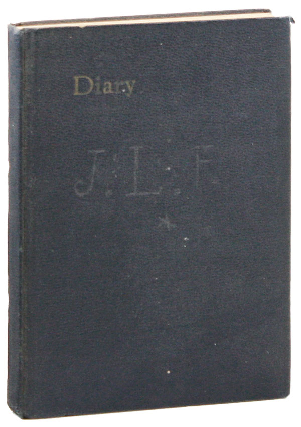 Manuscript Diary for the Year 1932. John Lawrence FRICK, Larry.