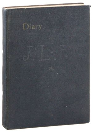 Manuscript Diary for the Year 1932. John Lawrence FRICK, Larry