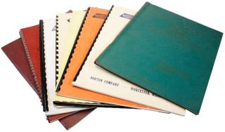 Collection of Eight Instruction Manuals. NORTON COMPANY